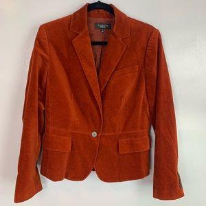 Talbots suede blazer jacket